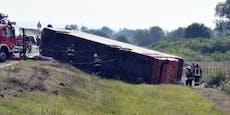Mindestens 10 Tote bei Busunglück in Kroatien