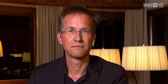 """Migrationsexperte Gerald Knaus wurde in der ORF-""""ZiB 2"""" zugeschaltet."""