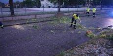 120 Unwetter-Einsätze für die Feuerwehr in NÖ