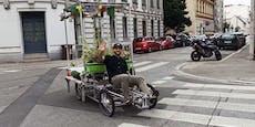 Grazer soll 6000 Euro zahlen, weil er Lastenrad parkte
