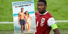 David Alaba macht Mama emotionale Liebeserklärung