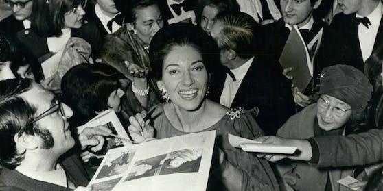 Die legendäre Maria Callas.