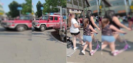 Feuerwehr-Einsatz in der U3-Station Zippererstraße