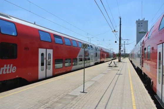 So sieht der Bahnhof aktuell noch aus.