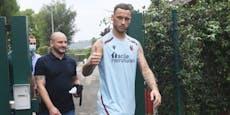 Arnautovic zeigt sich schon in T-Shirt von neuem Klub