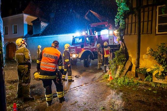 Hagel-Unwetter sorgte für Schäden im Bezirk Krems-Land