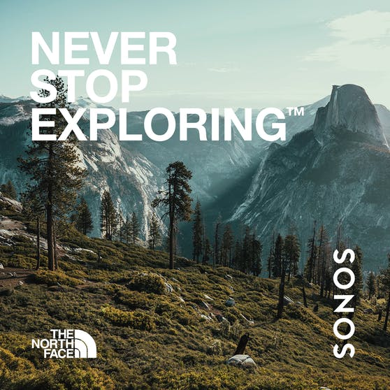 Sonos und The North Face laden Fans zu einer akustischen Entdeckungsreise in die Natur ein.