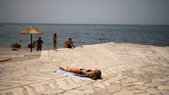 In Griechenland steht eine Hitzewelle bevor.