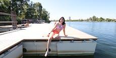 Gratis-Badespaß! Neue Stege für die Alte Donau