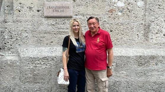 Richard Lugner und seine Simone in Salzburg