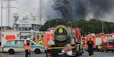 Ein Toter und fünf Vermisste nach Chemie-Explosion