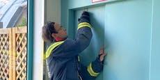 Familie steckte im Aufzug fest – Feuerwehr als Retter