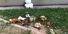 Gedenkstätte für 1-Jährigen direkt neben Kindergarten