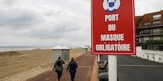 Erneut Outdoor-Maskenpflicht in Frankreich wegen Delta