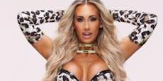 Wrestling-Star platzt BH, doch sie kämpft weiter