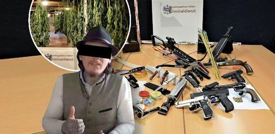 Hortete Waffen und Drogen - Merlin E. (l.)