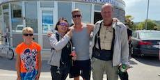 Wiener Polizist rettet in Kroatien Pärchen in Seenot