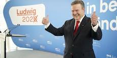 Stadtchef Ludwig hängt Konkurrenz in neuer Umfrage ab
