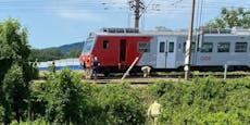 Mann in Korneuburg von Zug erfasst