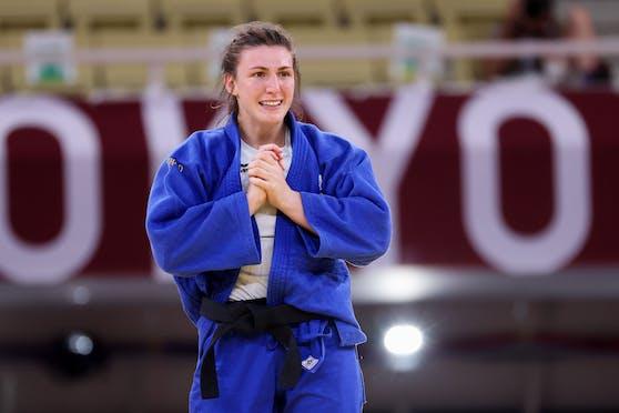 Michaela Polleres bei den Olympischen Spielen.