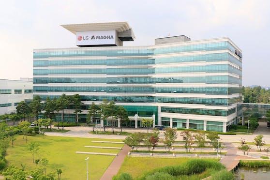 Das LG Magna e-Powertrain Hauptquartier in Incheon, Südkorea.