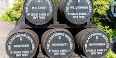Glenfiddich tankt Lkws mit Destillerieabfällen