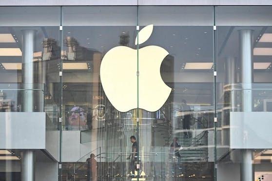81,3 Milliarden Dollar Umsatz im letzten Quartal: Ein Apple-Store in Hong Kong. (Archivbild)