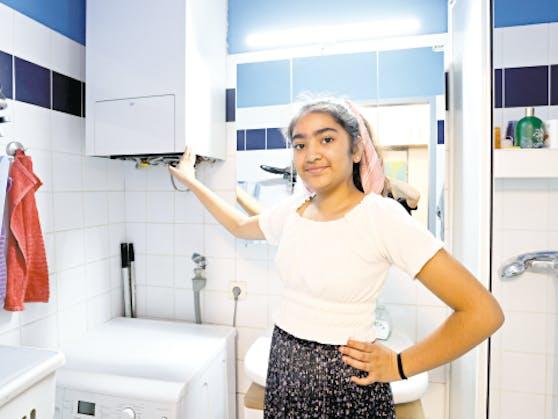 Eine defekte Gastherme vergiftete die Atemluft im Badezimmer. Die 11-jährige Kusum atmete das Giftgas Kohlenmonoxid ein und kollabierte unter der Dusche.