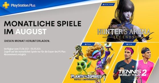 Die PlayStation Plus-Titel im August für PS4 und PS5.