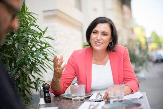 "Elisabeth Köstinger beim ""Heute""-Talk"