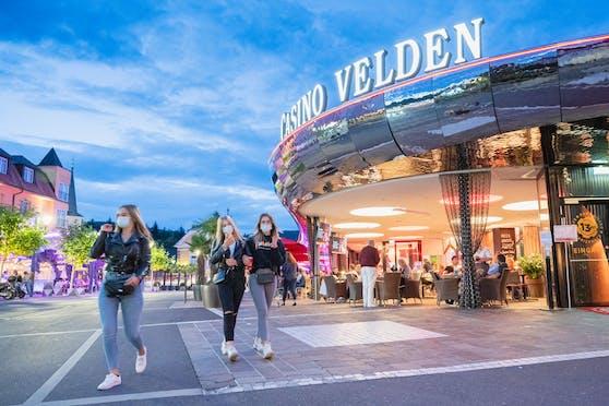 Die junge Urlauberin knackte im Casino Velden den Jackpot.