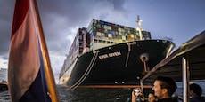 Nach Odyssee: Stau-Frachtschiff erreicht Zielhafen