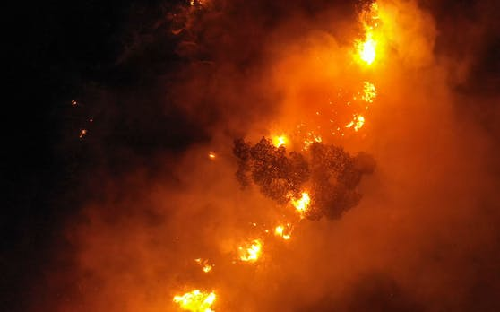 Auch im Oktober 2020 wüteten Waldbrände im Libanon.