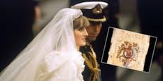 40 Jahre alte Hochzeitstorte von Diana wird versteigert