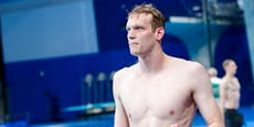 Schwimmer Auböck kämpft im TV-Interview mit den Tränen
