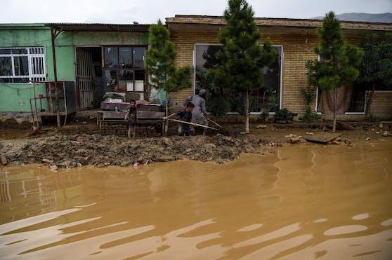 Bei einer Sturzflut in Afghanistan sind mindestens 40 Menschen ums Leben gekommen. Archivbild.