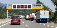 Lkw-Verkehr auf Autobahnen nahm heuer massiv zu
