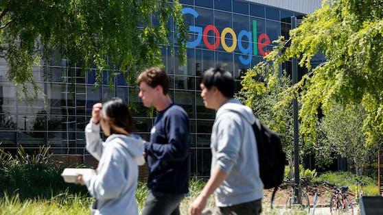 """""""Jeder, der zum Arbeiten auf unseren Campus kommt, muss geimpft sein"""", verkündet Google."""