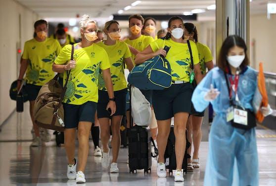 Corona-Probleme bei Australiens Olympia-Team
