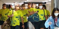 Corona: Gesamtes Australien-Team in Olympia-Quarantäne