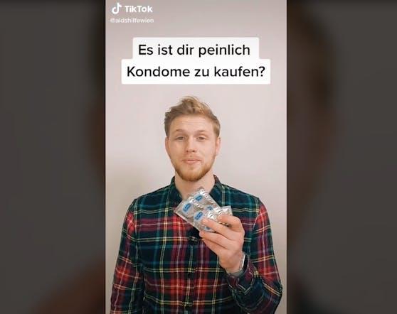 Aids Hilfe Wien klärt auf TikTok auf.