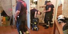 900 Feuerwehrleute bei Unwettern in NÖ im Einsatz