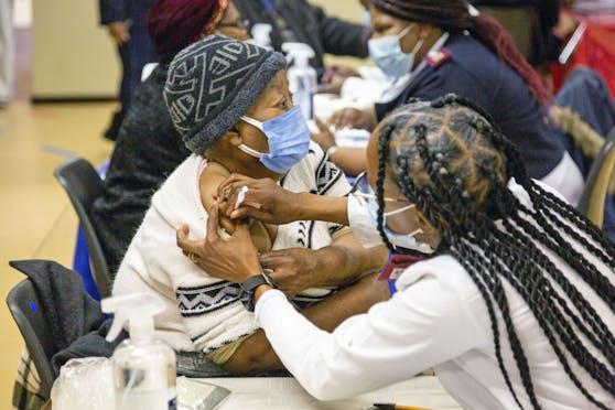 Impfung in Südafrika (Archivfoto)
