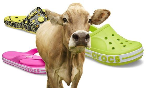 """Schuh-Hersteller """"Crocs"""" verzichtet künftig auf Leder in allen Designs."""