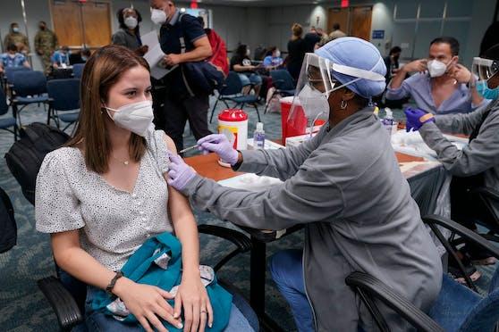 Corona-Impfungen in Florida