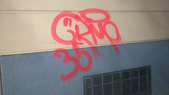 Ein 18-Jähriger wurde nach schwerer Sachbeschädigung durch Graffiti festgenommen.