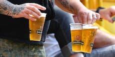 Kurioser Bier-Streit im Fußball-Stadion eskaliert