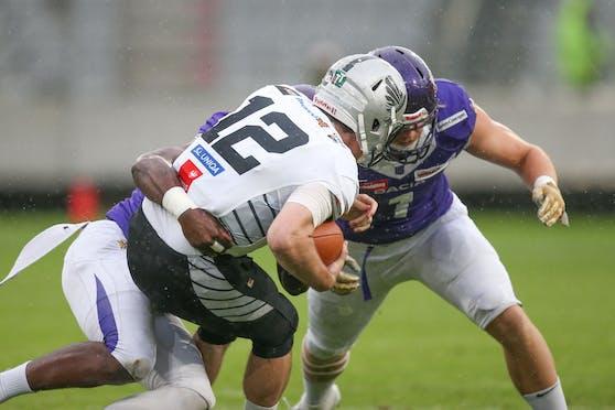 Die Raiders schlagen die Vikings.