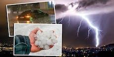Neue Unwetter – Experten geben Sturzflut-Warnung aus