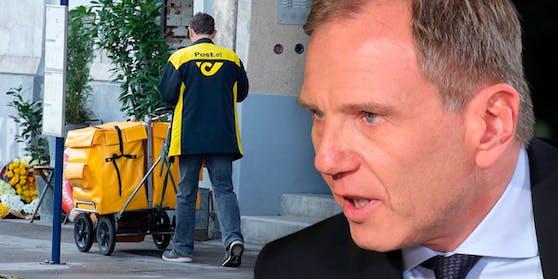 Armin Wolf teilte auf Twitter ordentlich gegen die Österreichische Post aus.